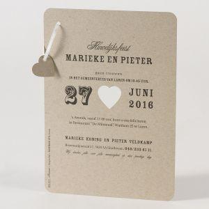 Buromac Papillons 105.021 huwelijkskaart