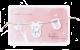 Roze kaartje met touwtje