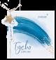 Geboortekaartje met blauwe regenboog