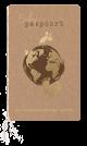 Geboortekaartje baby paspoort