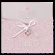 Geboortekaartje luxe babykaartje in sierlijk hoesje
