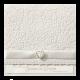 vintage trouwkaart met strass steentjes