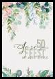 Uitnodiging - Botanische kaart