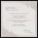 Romantische uitnodigingskaart met kant look en pareltjes
