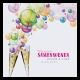 Uitnodiging - Kleurrijke bubbels