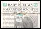 De geboorte van jullie kleintje is groot nieuws, dat mag in de krant! Maak het wereldkundig met dit originele geboortekrantje.