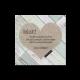 Bedankkaart passend bij de hippe trouwkaart met steigerhout en hart