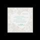 Bedankkaart passend bij de trouwkaart met twee in elkaar verstrengelde harten